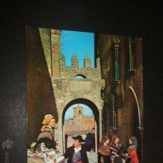 Postales: TRUJILLO CACERES ARCO DE SANTIAGO Y PALACIO DE CHAVES 1965 EDICIONES ARRIBAS Nº 2009. Lote 52562353