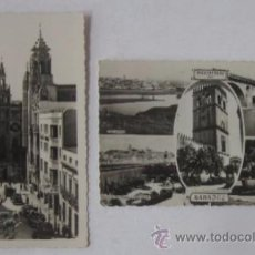 Postales: DOS POSTALES FOTOGRAFICAS DE BADAJOZ. Lote 52662695