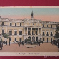 Postales: BADAJOZ - 13 - PALACIO MUNICIPAL - ROISIN FOT. Lote 52747578