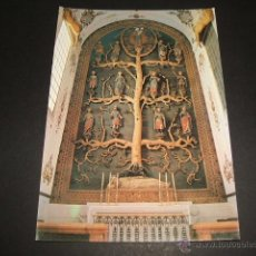 Postales: OLIVENZA BADAJOZ ALTAR DEL ARBOL GENEALOGICO VIRGEN ED. PAPELERIA SUCESOR DE MARTINEZ RENGIFO Nº 17. Lote 52795258