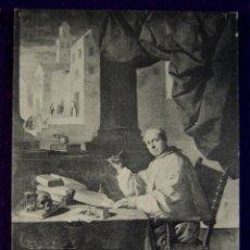 Postales: POSTAL DEL MONASTERIO DE GUADALUPE (CACERES). FRAY D. GONZALO DE ILLESCAS. ED.THOMAS. AÑOS 20.. Lote 53046473