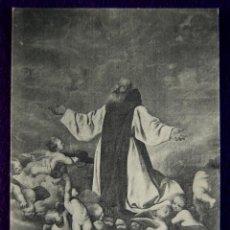Postales: POSTAL DEL MONASTERIO DE GUADALUPE (CACERES). APOTEOSIS DE SAN JERONIMO. ED.THOMAS. AÑOS 20.. Lote 53046489