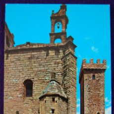 Postales: POSTAL DE CACERES. IGLESIA DE SAN MATEO. AÑOS 60.. Lote 53046543