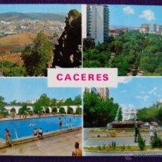 Postales: POSTAL DE CACERES. DIFERENTES VISTAS. AÑOS 60.. Lote 53046835
