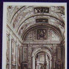 Postales: POSTAL DEL MONASTERIO DE GUADALUPE (CACERES). VISTA GENERAL DE LA SACRISTIA . AÑOS 40.. Lote 53047825