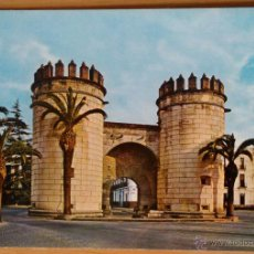 Postales: BADAJOZ - PUERTA DE LAS PALMAS. Lote 53116070
