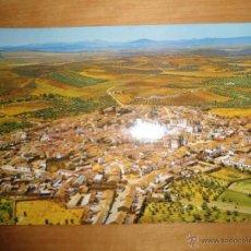 Postales: ANTIGUA POSTAL BADAJOZ - ZALAMEA DE LA SERENA - VISTA PARCIAL DESDE EL ESTE - FOTO ZACARIAS. Lote 53216744