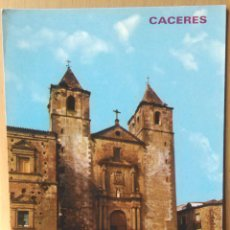 Postales: CACERES - PLAZA DE SAN JORGE. Lote 53332282