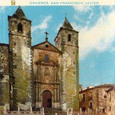 Postales: CACERES - IGLESIA DE SAN FRANCISCO JAVIER - Nº 30 -ED. LITOFIR. Lote 53362554