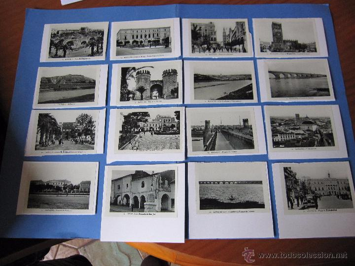 COPIAS EN CARTON POSTALES DE BADAJOZ ANTIGUAS (Postales - España - Extremadura Antigua (hasta 1939))