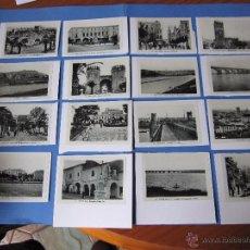 Postales: COPIAS EN CARTON POSTALES DE BADAJOZ ANTIGUAS. Lote 53605569