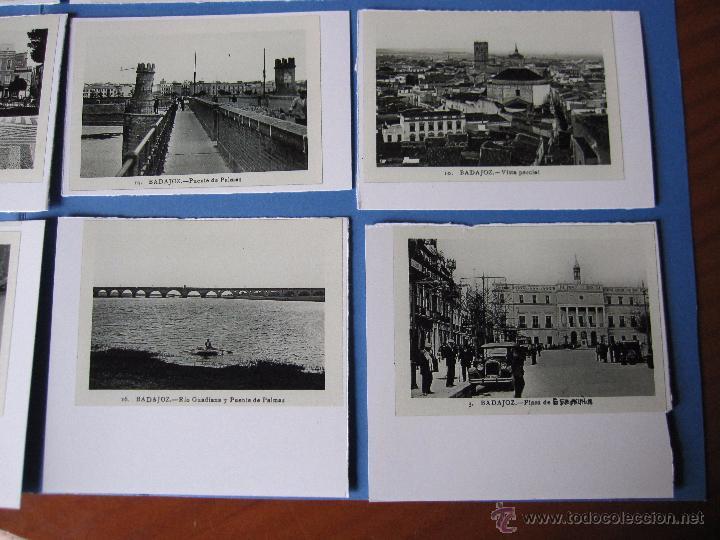 Postales: COPIAS EN CARTON POSTALES DE BADAJOZ ANTIGUAS - Foto 3 - 53605569