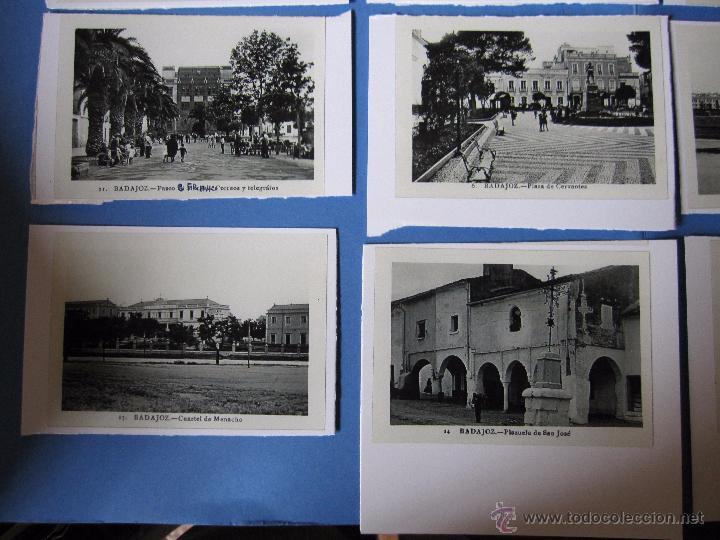 Postales: COPIAS EN CARTON POSTALES DE BADAJOZ ANTIGUAS - Foto 4 - 53605569