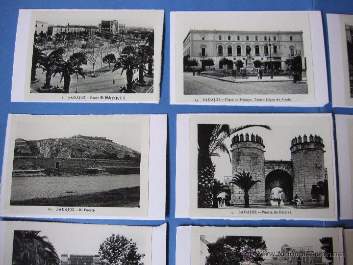 Postales: COPIAS EN CARTON POSTALES DE BADAJOZ ANTIGUAS - Foto 6 - 53605569