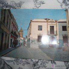 Postales: ANTIGUA POSTAL BADAJOZ - ALANGE - PLAZA DEL AYUNTAMIENTO - NUMERO 10 -ED D. GORDO . Lote 54056762