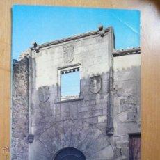 Postales: ANTIGUA POSTAL CACERES SOLAR DE LOS ULLOA. Lote 54059623