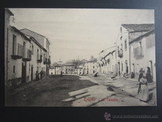 POSTAL CÁCERES. TRUJILLO. EL CAMPILLO. A. DURÁN (Postales - España - Extremadura Antigua (hasta 1939))