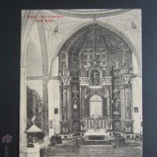 Postales: POSTAL CÁCERES. TRUJILLO. SAN FRANCISCO. ALTAR MAYOR. A. DURÁN.. Lote 54606190