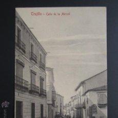 Postales: POSTAL CÁCERES. TRUJILLO. CALLE DE LA MERCED. A. DURÁN. . Lote 54606336