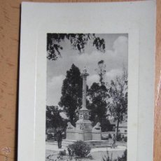 Postales: BADAJOZ. MONUMENTO AL GENERAL MENACHO. Lote 54762474