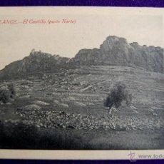 Postales: POSTAL DE ALANGE (BADAJOZ). EL CASTILLO, PARTE NORTE. AÑOS 20. COLECCION L. LOPEZ.. Lote 54995906