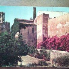 Postales: BADAJOZ, TORRE DE ESPANTAPERROS DESDE LA ALCAZABA. Gª GARRABELLA.. Lote 55367719