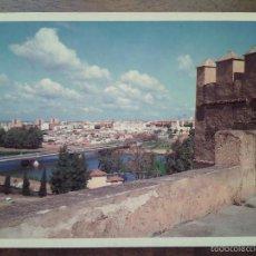 Postales: BADAJOZ, MURALLAS DEL CASTILLO. EDICIONES PARIS.. Lote 55367753