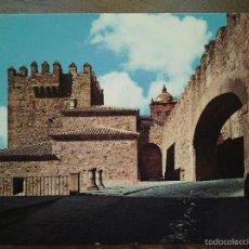 Postales: CÁCERES. ARCO DE LA ESTRELLA Y TORRE BUJACO. ARRIBAS.. Lote 55368368