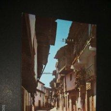 Postales: VILLANUEVA DE LA VERA CACERES CALLE REAL EDICION HERMANOS CASET Nº 5 HELIOTIPIA ARTISTICA ESPAÑOLA. Lote 55404390