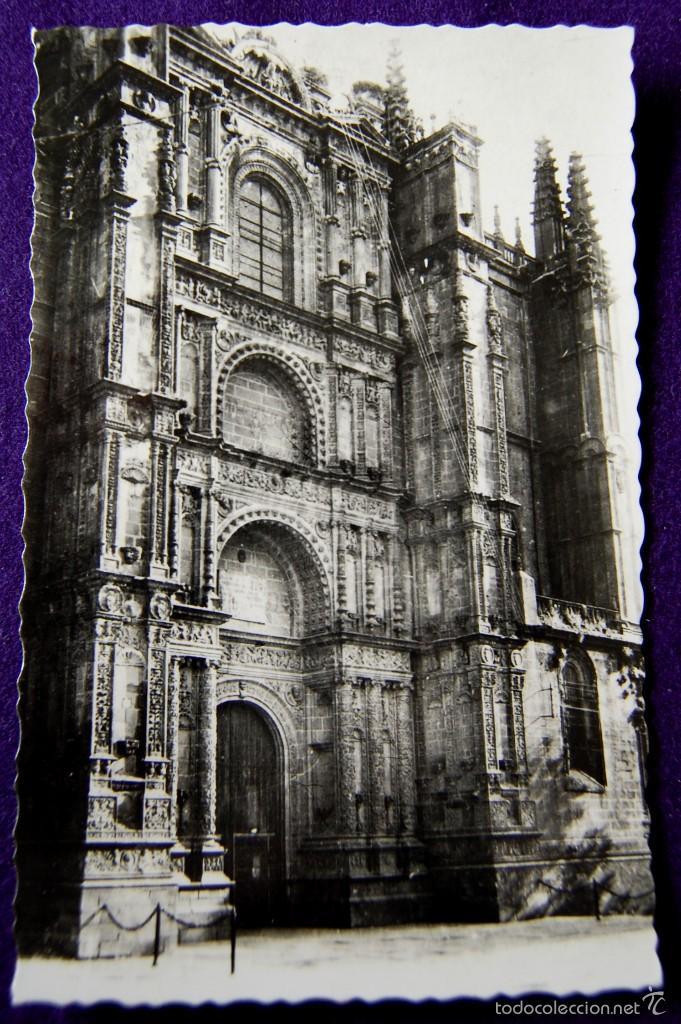 POSTAL DE PLASENCIA (CACERES). Nº11 CATEDRAL. FACHADA PRINCIPAL. EDIC ARRIBAS (ZARAGOZA). AÑOS 50. (Postales - España - Extremadura Moderna (desde 1940))