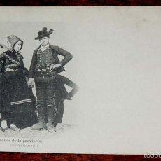 Postales: CACERES, ALDEANOS DE LA PROVINCIA, FOT. LAURENT SERIE B Nº 42, SIN CIRCULAR Y SIN DIVIDIR. Lote 55693022