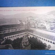 Postales: POSTAL - ESPAÑA - CÁCERES - MONASTERIO DE GUADALUPE VISTA GENERAL A VUELO DE PAJARO - THOMAS - NUEVA. Lote 56233604