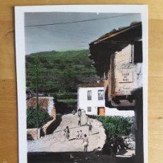 Postales: POSTAL HERVÁS (CÁCERES) - PUENTE DE FUENTE CHIQUITA. Lote 56718344