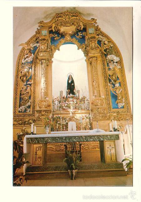 LA CODOSERA (BADAJOZ).- NTRA. SRA. DE CHANDAVILLA Y SU RETABLO (Postales - España - Extremadura Moderna (desde 1940))