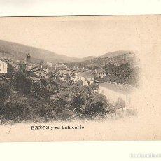 Postales: BAÑOS DE MONTEMAYOR (CÁCERES).- BAÑOS Y SU BALNEARIO. Lote 56993971