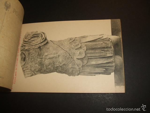 Postales: MERIDA BADAJOZ ESCULTURAS ROMANAS DE MARMOL CUADERNILLO 10 POSTALES COMPLETO - Foto 2 - 57193354