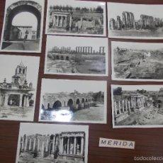 Postales: 9 POSTALES DE MERIDA ANTIGUAS. Lote 57725786