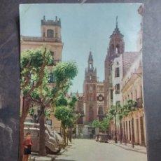 Postales: POSTAL DE BADAJOZ, PLAZA DE LA SOLEDAD, N. 8, EDICIONES A.D. NO CIRCULADA.. Lote 57893186