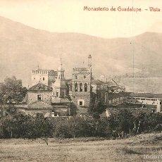 Postales: MONASTERIO DE GUADALUPE. Lote 57928831