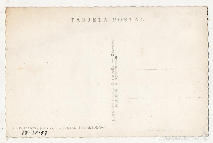 Postales: Plasencia. La Catedral. Torre del Melón. - Foto 2 - 58065121