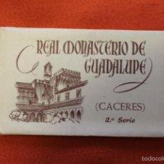 Postales: REAL MONASTERIO DE GUADALUPE, CACERES, 2ª SERIE, HUECOGRABADO FOURNIER, FOTO RODRIGUEZ. Lote 58236972