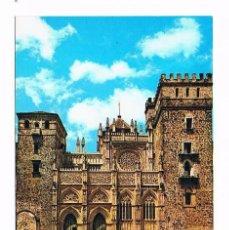 Postales: POSTAL ANTIGUA CACERES SIN CIRCULAR GUADALUPE FACHADA PRINCIPAL DEL TEMPLO DE LA HISPANIDAD. Lote 58669219