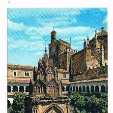 Postales: POSTAL ANTIGUA CACERES SIN CIRCULAR GUADALUPE ANGULO DEL CLAUSTRO MUDEJAR. Lote 58669304