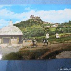 Postales: ANTIGUA POSTAL COLOR ALBURQUERQUE BADAJOZ AÑOS 60-70. Lote 58921260