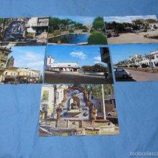 Postales: LOTE POSTALES COLOR POSTAL COLOR DE BADAJOZ ALMENDRALEJO. Lote 58921555