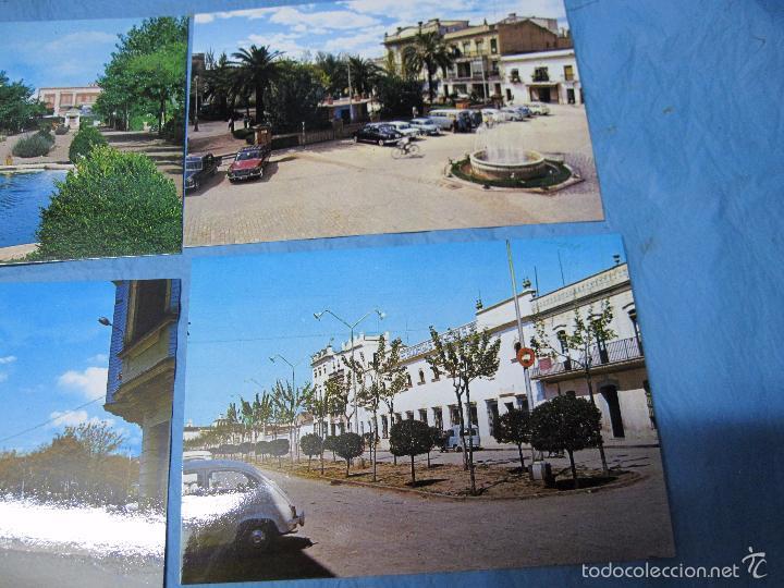 Postales: LOTE POSTALES COLOR POSTAL COLOR DE BADAJOZ ALMENDRALEJO - Foto 3 - 58921555