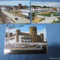 Postales: LOTE POSTALES COLOR POSTAL ANTIGUA DE ZAFRA BADAJOZ. Lote 58921665