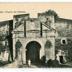 Postales: BADAJOZ OLIVENZA PUERTA DEL CALVARIO SIN CIRCULAR. Lote 59069780