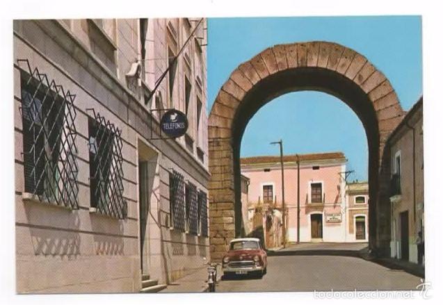 MERIDA. BADAJOZ ARCO DE TRAJANO. SIN CIRCULAR (Postales - España - Extremadura Moderna (desde 1940))