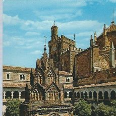 Postales: LOTE DE 7 POSTALES ANTIGUAS DEL MONASTERIO DE GUADALUPE MADRID. Lote 61041635